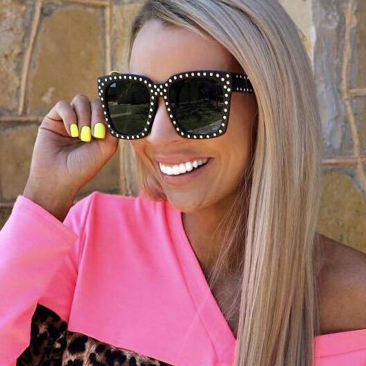 Summer Fashion Sunglasses -Gold