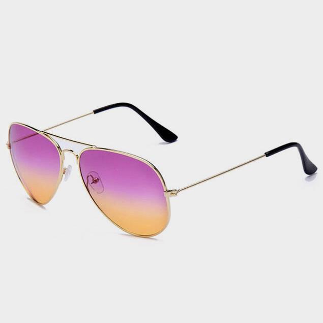 Retro Metal Frame Toad Sunglasses