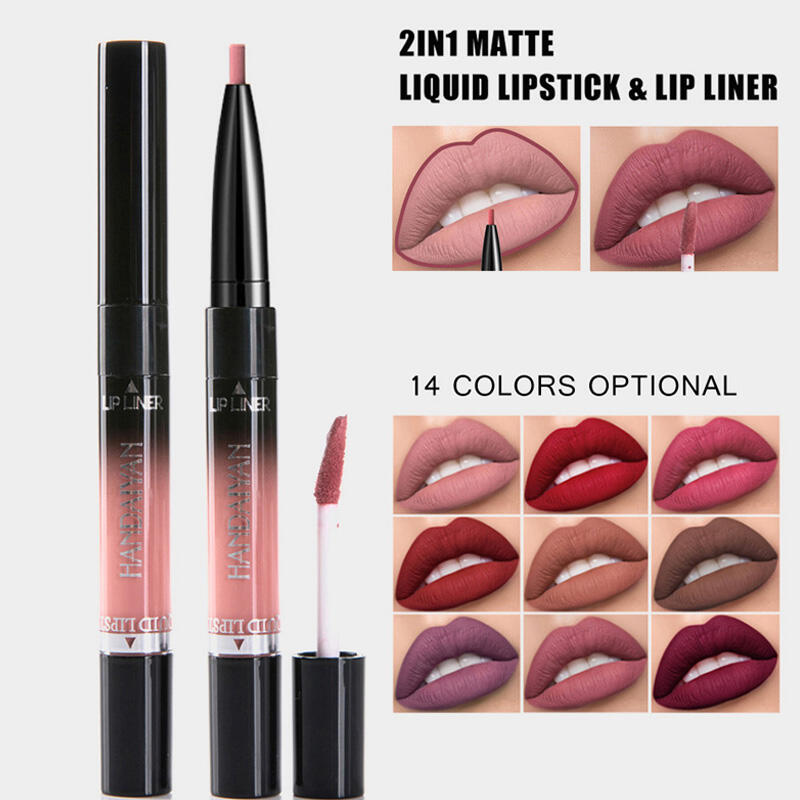 14 Color Lip Gloss and Lip Liner