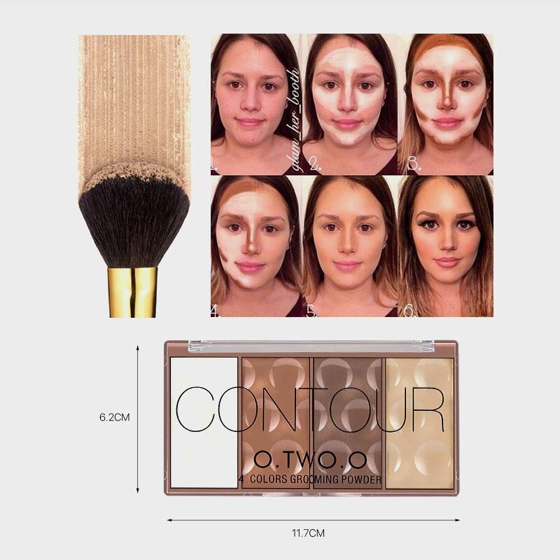4 Color Repairing Concealer Foundation Blush