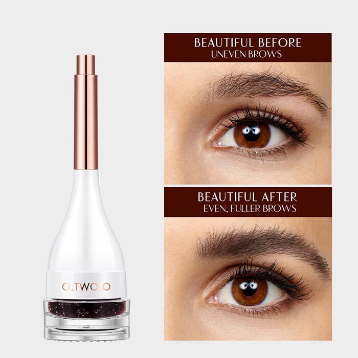 Eye Brow 3D Make Up Fiber With Brush Cosmetic