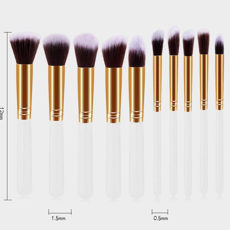 Image of 10Pcs/Set Makeup Brush Set