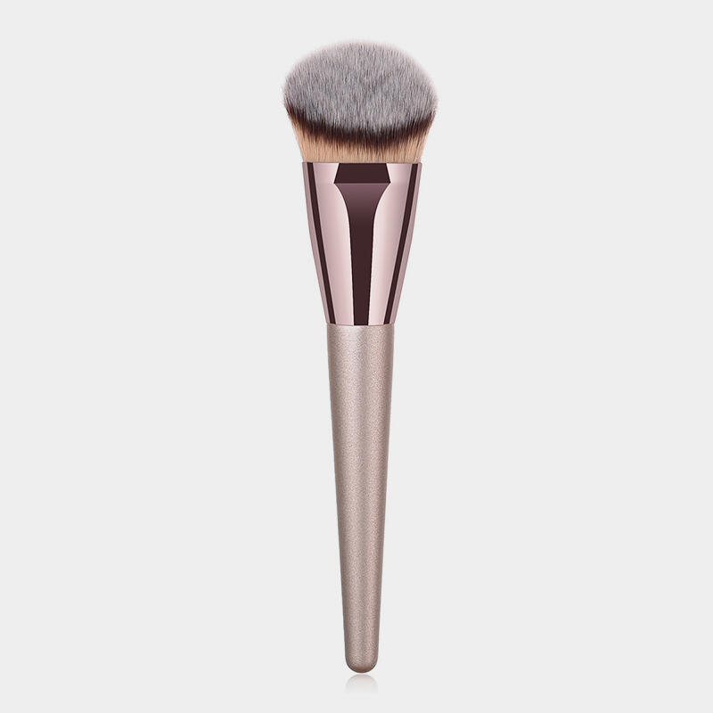 makeup liquid foundation brush - champagne