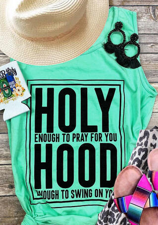 Holy Hood Tank - Light Green