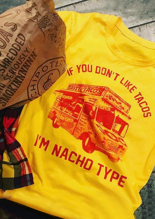 If You Don't Like Tacos Car T-Shirt Tee - Yellow
