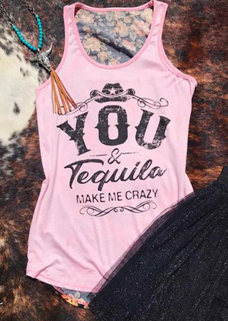 You_&_Tequila_Make_Me_Crazy_Tank_-_Pink