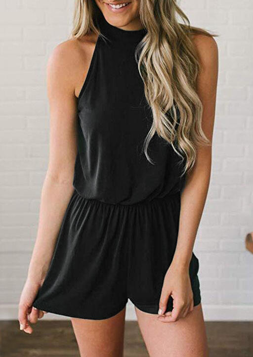 Solid_Ruffled_Hollow_Out_Romper_-_Black