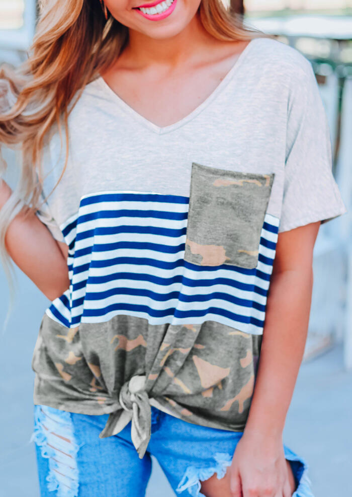 Camouflage_Printed_Striped_Pocket_Tie_T-Shirt_Tee_-_Light_Grey