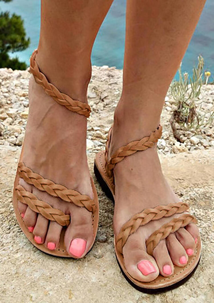 Solid_Woven_Flat_Sandals_-_Light_Brown