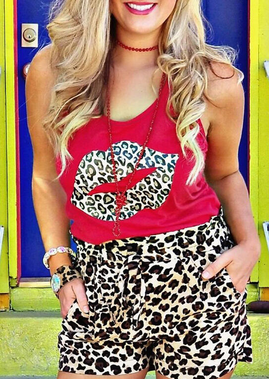 Leopard_Printed_Lips_Tank_without_Necklace_-_Red