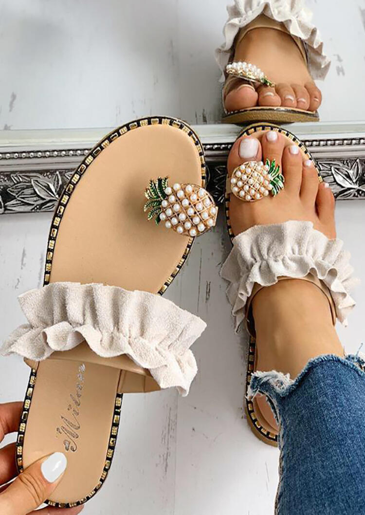 Pineapple_Toe_Ring_Flat_Sandals_-_Apricot