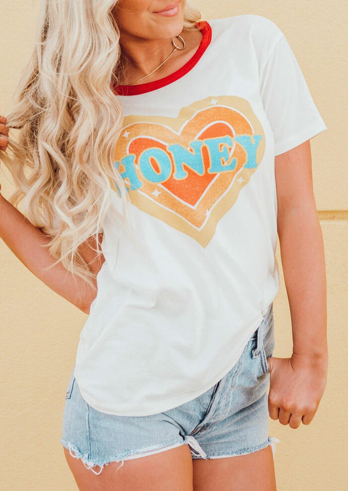 Honey_Heart_T-Shirt_Tee_without_Necklace_-_White