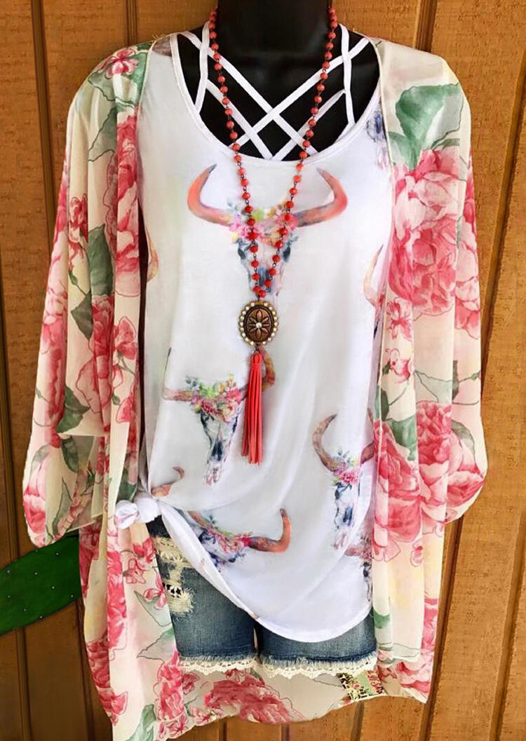 Floral_Steer_Skull_Criss-Cross_Tank_without_Necklace_-_White