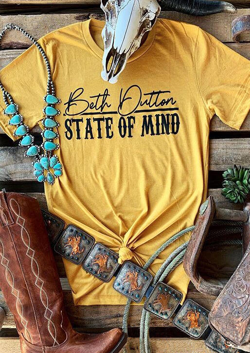 Beth_Dutton_State_Of_Mind_T-Shirt_Tee_-_Yellow