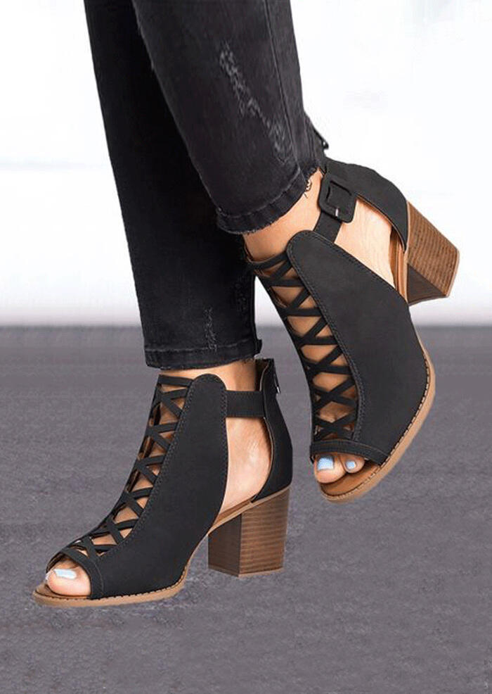 Solid_Hollow_Out_Peep_Toe_Sandals_-_Black