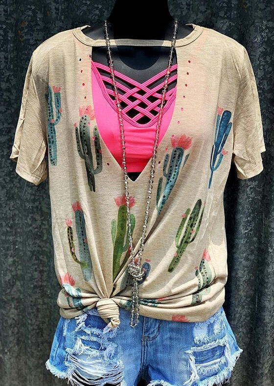 Cactus_Hollow_Out_Blouse_without_Necklace_-_Flesh