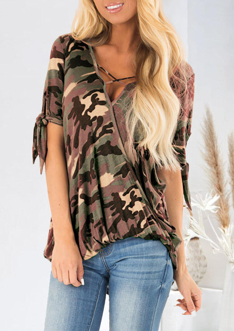 Camouflage_Printed_Cross_Wrap_Blouse