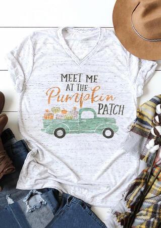 Meet Me At The Pumpkin Patch T-Shirt