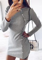 Solid_Button_Long_Sleeve_Mini_Dress__Gray