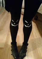 Halloween_Pumpkin_Ghost_Face_Leggings__Black