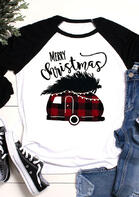 Merry_Christmas_Plaid_Splicing_Campervan_TShirt_Tee__White
