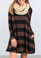 Striped_Pocket_Long_Sleeve_Mini_Dress_without_Necklace