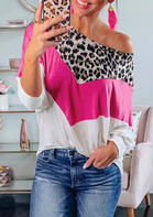Leopard_Printed_Color_Block_Splicing_Blouse__White