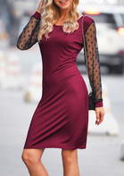 Lace_Splicing_Long_Sleeve_Mini_Dress__Burgundy