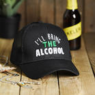 I&039ll_Bring_The_Alcohol_Embroidered_Baseball_Hat