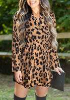 Leopard_Printed_VNeck_Mini_Dress