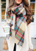 Winter_Warm_Colorful_Plaid_Wrap_Shawl_Scarf