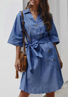 Solid_Button_VNeck_Denim_Mini_Dress_without_Necklace__Light_Blue