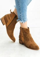 Solid_Lace_Up_Side_Zipper_Ankle_Boots__Brown