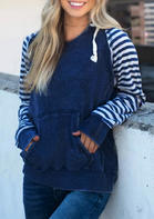 Striped_Splicing_Kangaroo_Pocket_Drawstring_Hoodie_without_Necklace__Blue