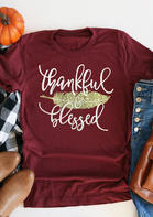 Feather_Thankful_Blessed_TShirt_Tee__Burgundy