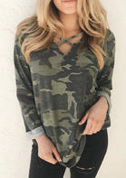 Camouflage_Printed_CrissCross_Blouse__Green