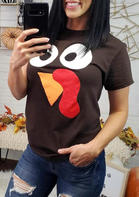 Turkey_Face_Thanksgiving_TShirt_Tee__Coffee