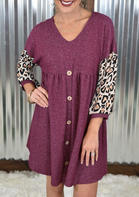 Leopard_Printed_Splicing_Mini_Dress_without_Necklace__Burgundy