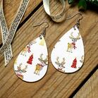 Christmas_Tree_Elk_Printed_Leather_Earrings