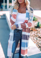 Colorful_Striped_Splicing_Cardigan_without_Necklace