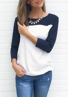 Color_Block_Splicing_ONeck_TShirt_Tee_without_Necklace__Navy_Blue