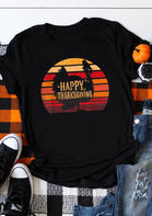 Happy_Thanksgiving_Turkey_ONeck_TShirt_Tee__Black