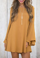 Solid_CrissCross_Flare_Sleeve_Mini_Dress_without_Necklace__Yellow