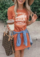 Griswold_Family_Christmas_Mini_Dress__Orange