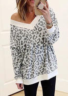Leopard_Printed_VNeck_Blouse_without_Necklace