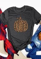 Leopard_Printed_Pumpkin_ONeck_TShirt_Tee__Dark_Grey