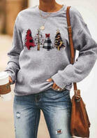 Christmas_Trees_Plaid_Sweatshirt_without_Necklace__Gray