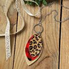Plaid_Leopard_Printed_ThreeLayered_Necklace