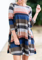 Color_Block_Splicing_ONeck_Mini_Dress__Multicolor