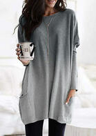 Gradient_Color_Long_Sleeve_Pocket_Mini_Dress_without_Necklace__Gray